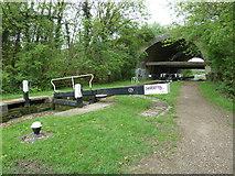 SP7257 : Lock 12, Grand Junction Canal - Northampton Arm by Mr Biz