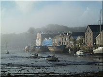 SW7834 : Misty morning - Penryn by Chris Allen