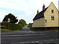 TM4394 : Post Office Road, Toft Monks by Adrian Cable