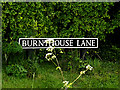 TM4295 : Burnthouse Lane sign by Adrian Cable