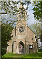 SK7335 : St Mary's Church, Barnstone by Alan Murray-Rust