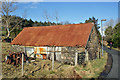 NG9040 : Barn in Croft Road by Richard Dorrell