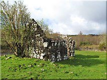 NG4148 : Ruined chapel on St Columba's Island by Gordon Hatton