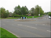 NS5061 : Roundabout on Hurlet Road (A726), Paisley by G Laird
