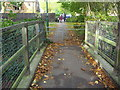TQ1788 : Bridge over Wealdstone Brook by David Howard
