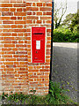 TM4584 : Rectory Road Victorian Postbox by Adrian Cable