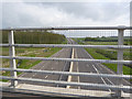 SK6533 : A46 looking south from Owthorpe Road bridge by Alan Murray-Rust