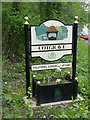 SK6434 : Cotgrave village entrance sign by Alan Murray-Rust