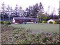 NO5298 : Aboyne Bowling Club by Stanley Howe