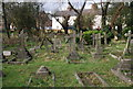 SP5305 : Graves, Church of St Mary and St John by N Chadwick