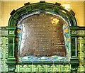SJ8595 : Commemorative Plaque, Manchester Victoria Baths by David Dixon