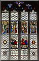 SE6052 : Stained glass window, St Michael le Belfrey by Julian P Guffogg