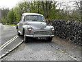 SE0063 : 1965 Morris Minor 1000 at Linton Falls by sylvia duckworth