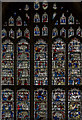 SE6052 : Upper part, Stained glass window n.VII, York Minster by Julian P Guffogg