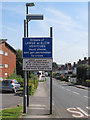 SU8882 : Level Crossing signage, Harrow Lane Furze Platt by SK53
