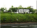 TM4197 : Roadsigns on the B1136 Yarmouth Road by Adrian Cable
