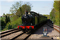 TQ3837 : Arriving at East Grinstead by Peter Trimming