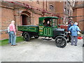 SK2625 : Claymills Pumping Station - Model T Ford pick-up by Chris Allen