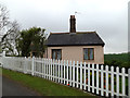 TM4493 : Toft Monks Crossing Cottage by Adrian Cable