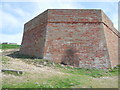 TV4898 : Brick Building, Seaford Head by Paul Gillett