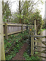 TM3569 : Lovers Lane Footpath near Lane House by Adrian Cable