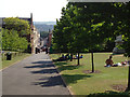 SX9192 : Western end of Northernhay Gardens, Exeter by Robin Stott