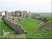NU1241 : Lindisfarne Priory by G Laird