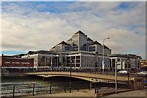 O1634 : Dublin: Matt Talbot Memorial Bridge over the River Liffey by Suzanne Mischyshyn