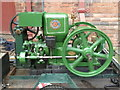 SK2625 : Claymills pumping station - stationary engine by Chris Allen