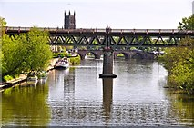 SO8455 : Worcester : The River Severn by Lewis Clarke