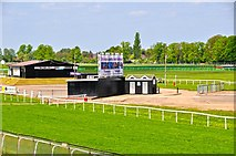 SO8455 : Worcester : Worcester Racecourse by Lewis Clarke