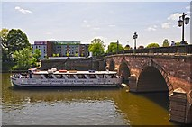 SO8454 : Worcester : The River Severn by Lewis Clarke