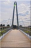 SO8453 : Worcester : Diglis Bridge by Lewis Clarke