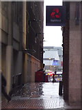 SK3587 : Sheffield: Mulberry Street from High Street by Chris Downer