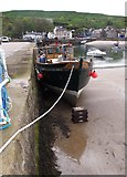 NO8785 : High and dry in Stonehaven Harbour by Stanley Howe