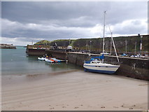 NO8785 : A French yacht in port at Stonehaven by Stanley Howe
