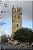 SP5206 : Bell Tower, Magdalen College by N Chadwick