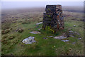 NY8206 : Trig point, Nine Standards Rigg by Ian Taylor