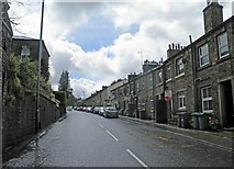 SE1407 : B6106 Dunford Road Holmfirth by Steve  Fareham