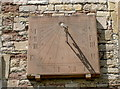 ST6390 : Sundial on St Mary's by Neil Owen