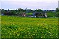 SO8257 : Little Eastbury : Grassy Field by Lewis Clarke