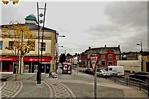 J4844 : Downpatrick - Market Street (A25) View to Northeast   by Suzanne Mischyshyn