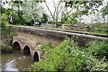 TQ0524 : Aqueduct over the River Arun by Peter Jeffery