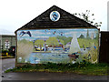 TM4993 : Mural at The Waveney Centre by Adrian Cable