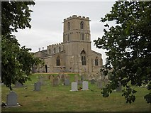 TF1107 : St. Peter's Church, Maxey by Paul Bryan