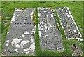 NR4550 : Tomb slabs, Kildalton church by Rob Farrow