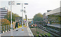 TQ2475 : Putney Bridge Station, looking south towards the Bridge by Ben Brooksbank