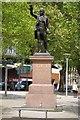 ST5872 : Statue of Edmund Burke by Philip Halling
