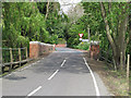 TL8146 : Entering Suffolk over Pentlow Bridge by Roger Jones