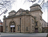 SP0198 : Walsall - former Town Hall on Leicester Street by Dave Bevis